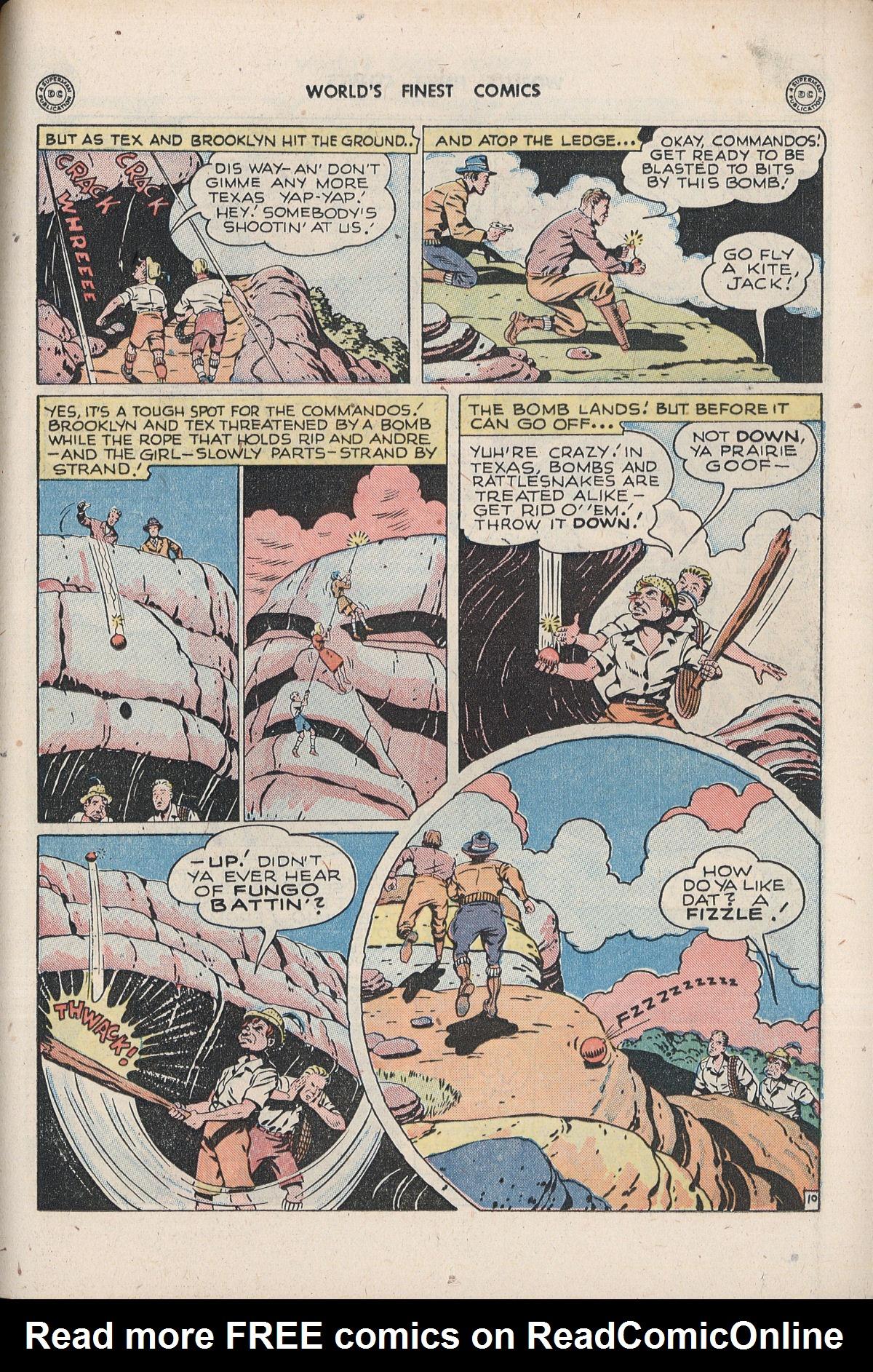 Read online World's Finest Comics comic -  Issue #33 - 57