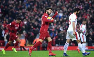 Top Skor Liga Inggris: Mohamed Salah, Aubameyang, Harry Kane