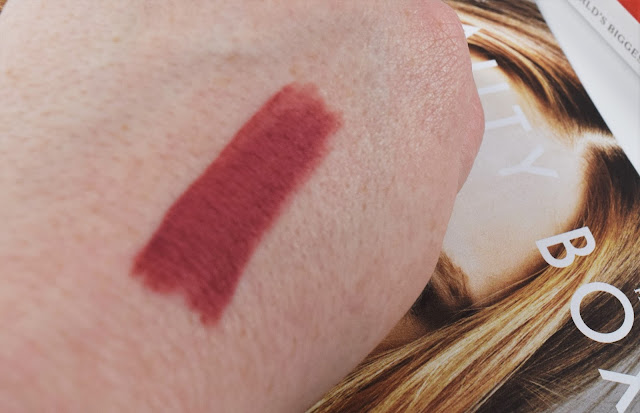 Lord & Berry Matte Lipstick Pencil in Intimacy Swatch