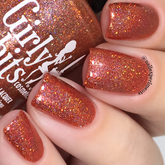 girly bits no pumpkin way swatch october 2017 cotm