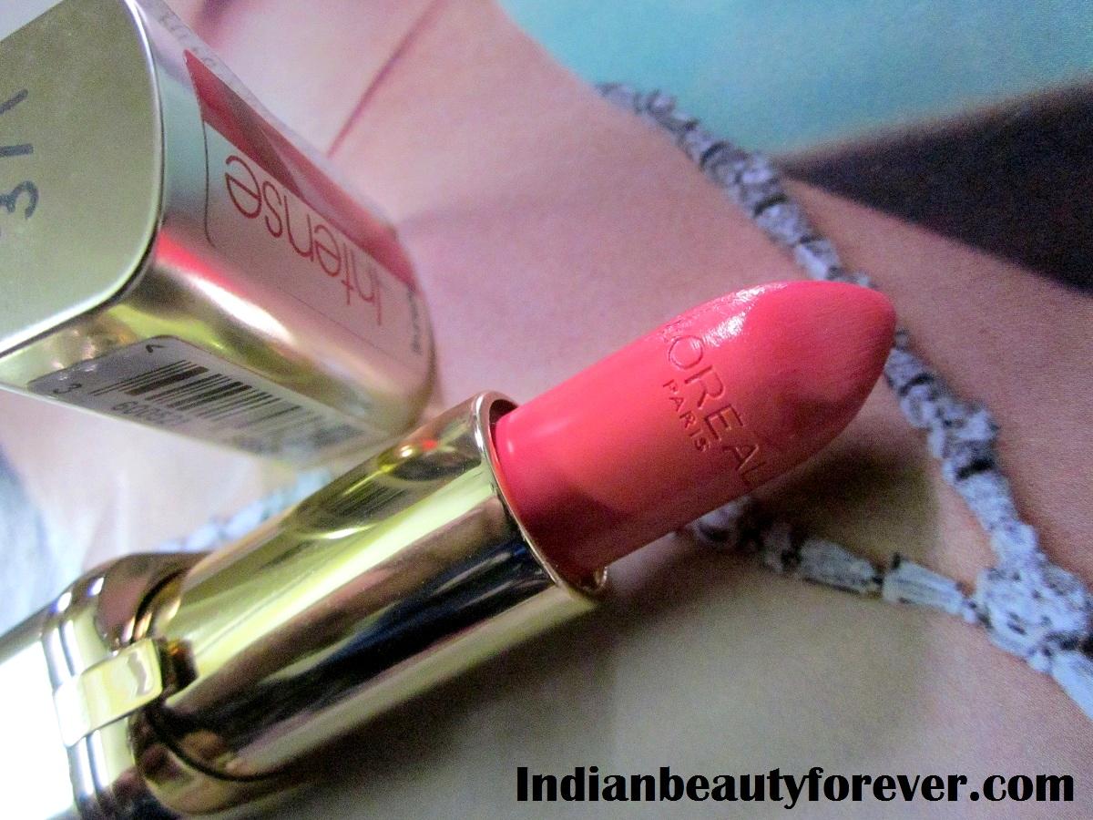 L'Oreal Paris Color Riche Lipstick Pink Passion Review and Swatches