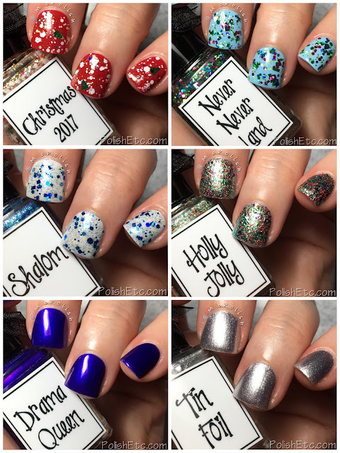 Whimsical Ideas by Pam - Holiday 2017 - McPolish