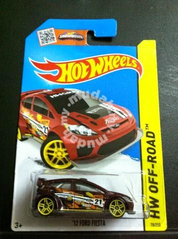 Ford Fiesta Hotwheels