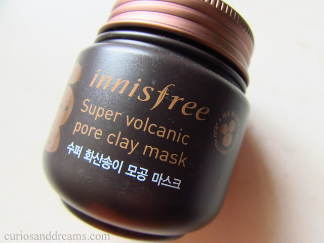 Innisfree Super Volcanic Pore Clay Mask, Innisfree Super Volcanic Pore Clay Mask review