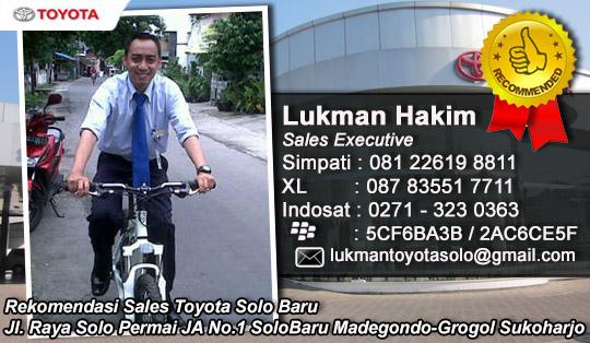Rekomendasi Sales Mobil Nasmoco Toyota Solo Baru