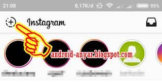 Cara buat Instagram Stories mirip Snapchat Android