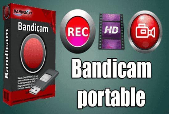 تحميل برنامج Bandicam Portable عملاق تصوير سطح المكتب بجودة عالية نسخة محمولة مفعلة