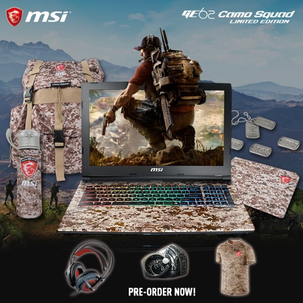 Gear Up with MSI Camo Squad