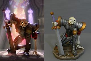 Action figure personalizzata fumetti cartoni animati film regalo fidanzato orme magiche