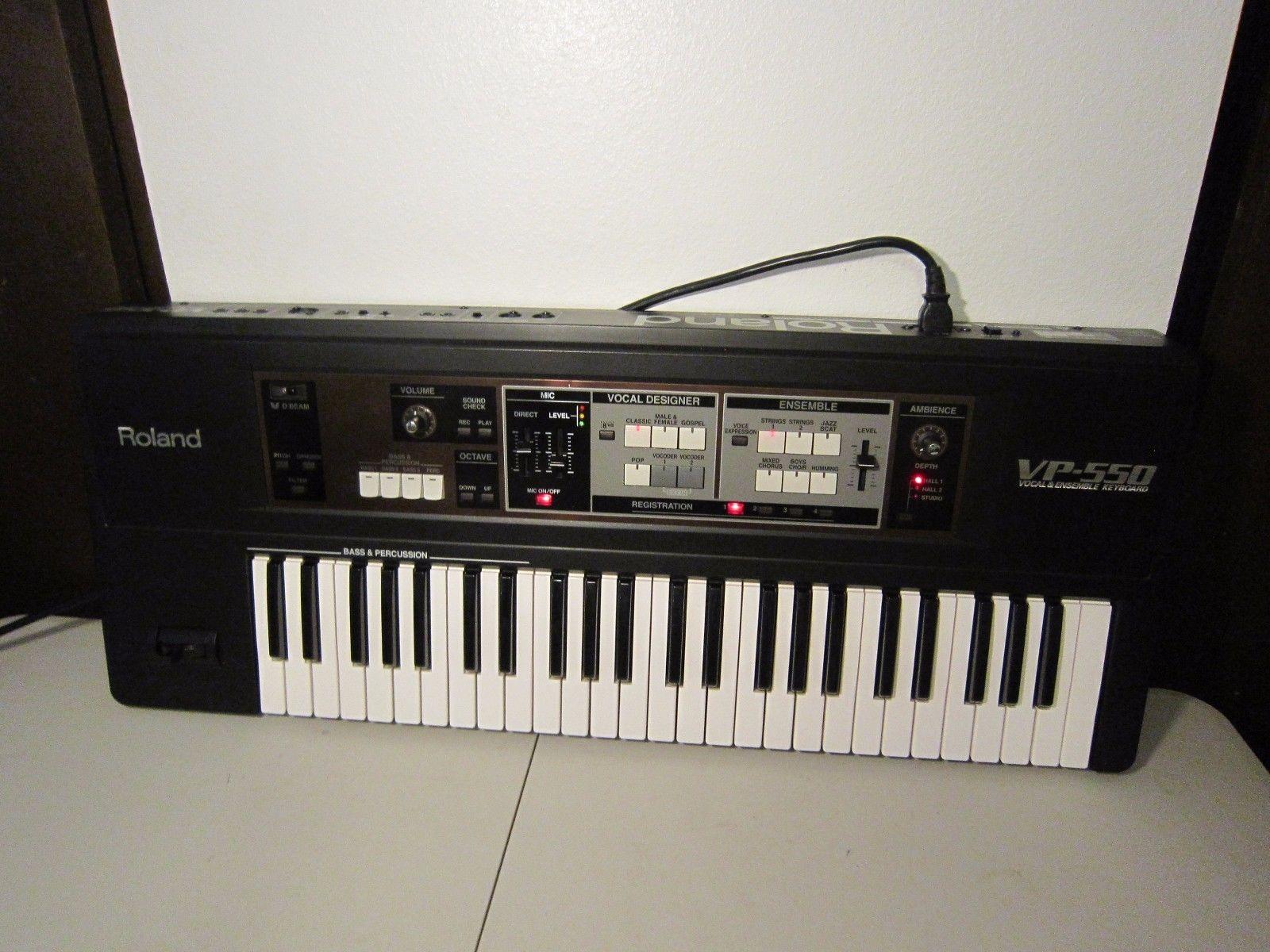 MATRIXSYNTH: Roland VP-550 Vocal Ensemble - Vocoder - Synthesizer SN