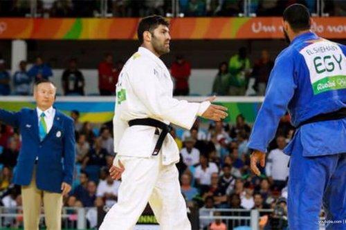 Atlet judo asal Mesir tolak berjabat tangan dengan atlet 'Israel'