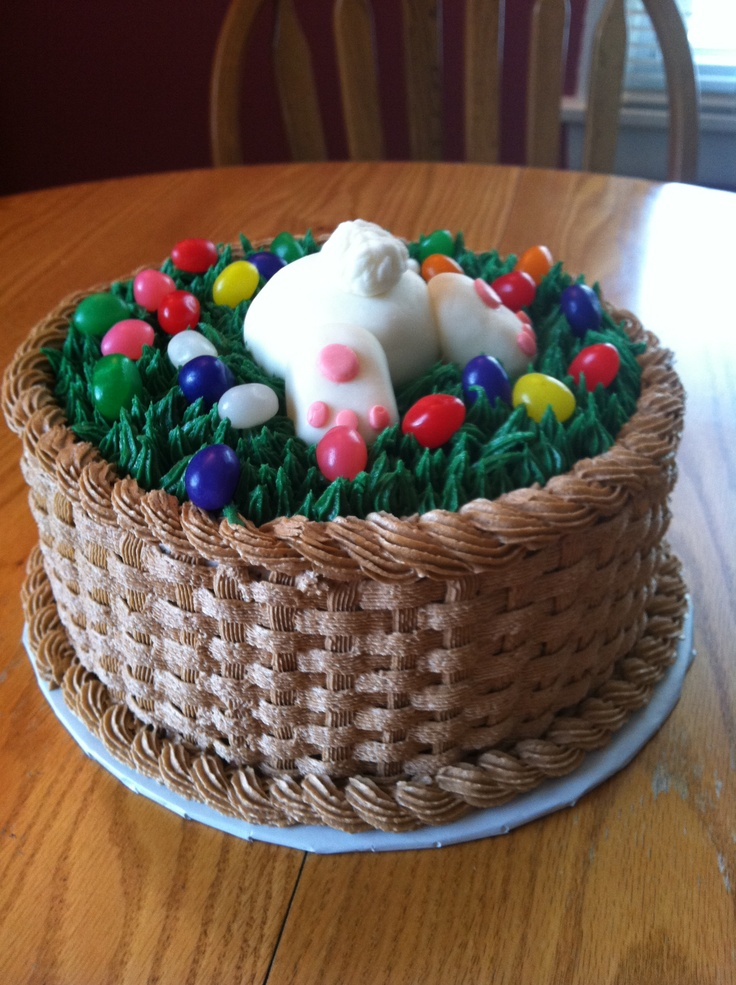 Easter Basket Cake Decorating Ideas : Easter Cake Happy Easter Yummy And Testy Cakes Ideas ...