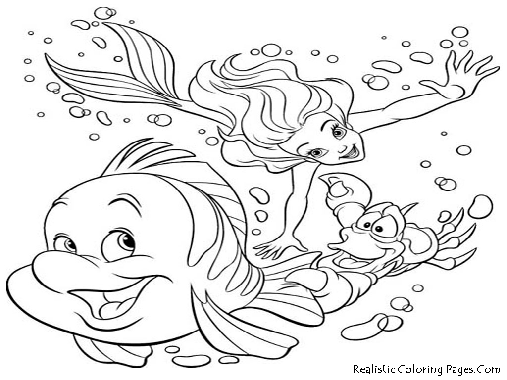 Comfortable Underwater Ocean Animals Coloring Pages For ...