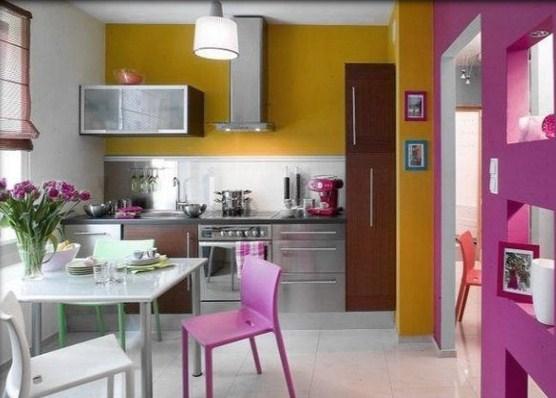 Kitchen color ideas pretty clean and minimalistic