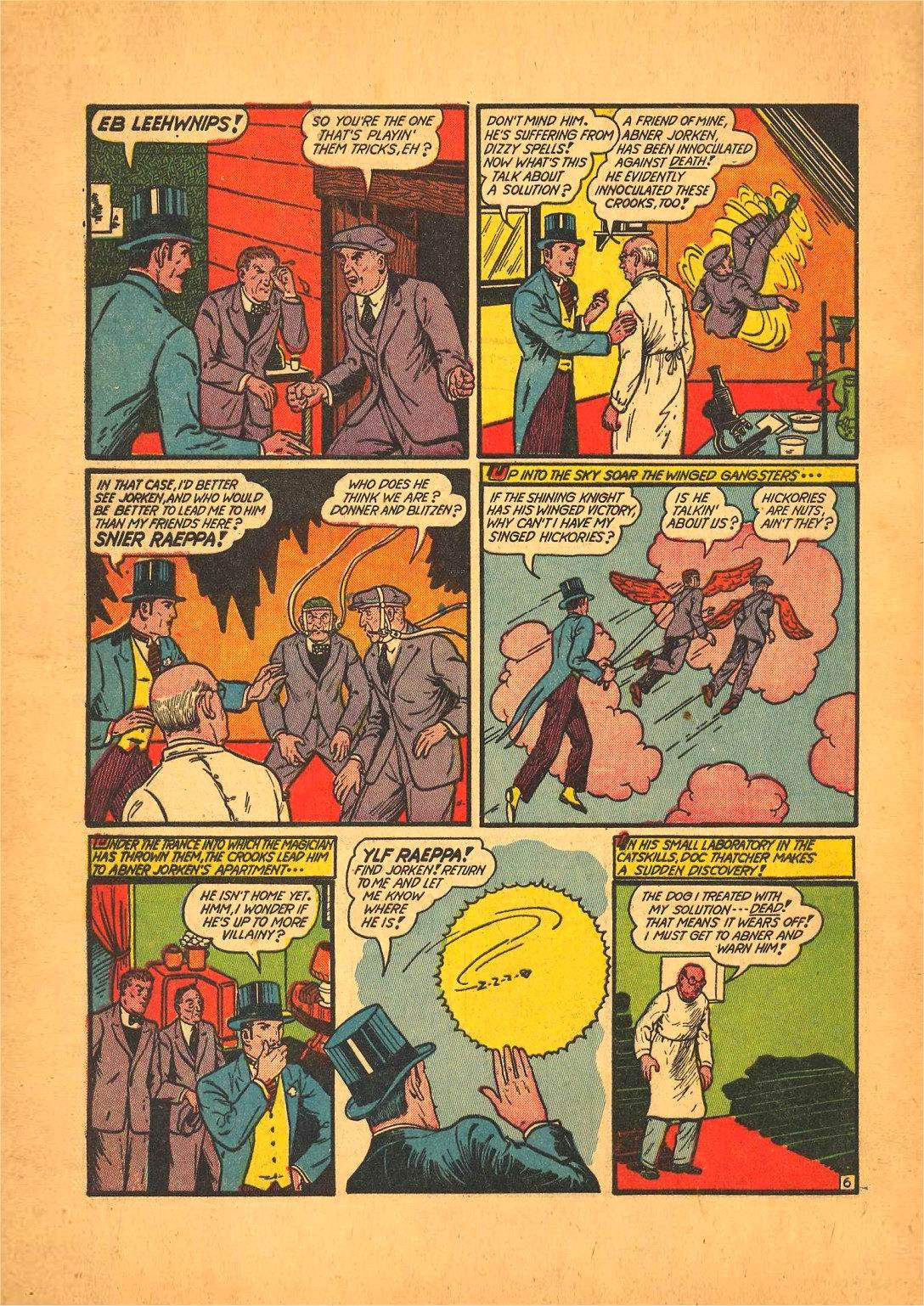 Read online Action Comics (1938) comic -  Issue #50 - 70