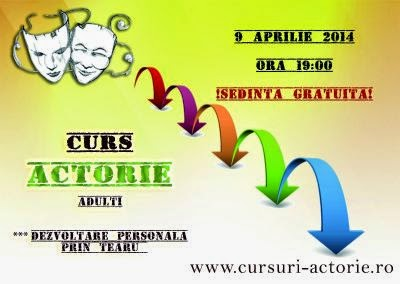 Curs actorie adulti