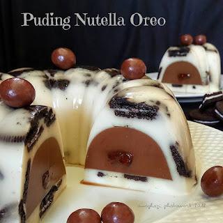 Ide Resep Membuat Puding Nutella Oreo