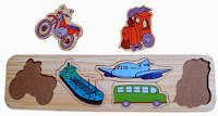 Mainan Puzzle Edukasi Anak Kendaraan