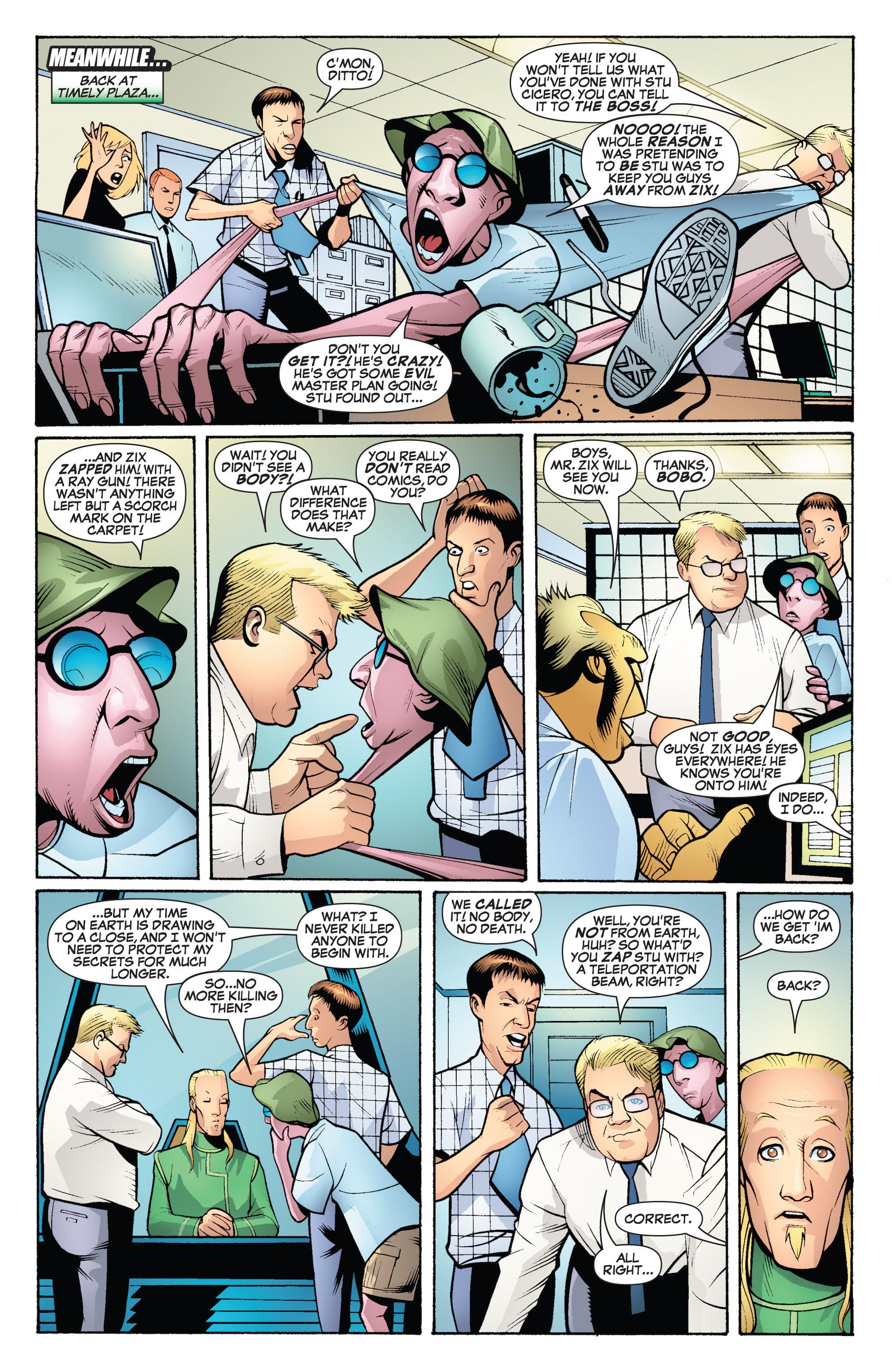 Read online She-Hulk (2005) comic -  Issue #19 - 23