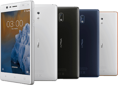 Nokia 3 launched in India
