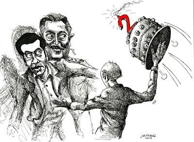 IaTriDis Γελοιογραφία : 2 χρόνια ΣΥΡΙΖΑ