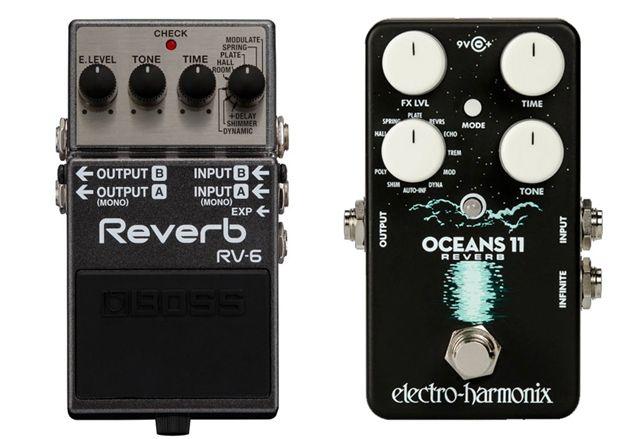 Pedales Reverb Guitarra Boss RV-6 Vs Electro Harmonix Oceans