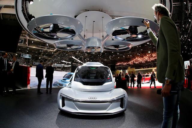 Audi e AirBus testarão táxis voadores na Alemanha