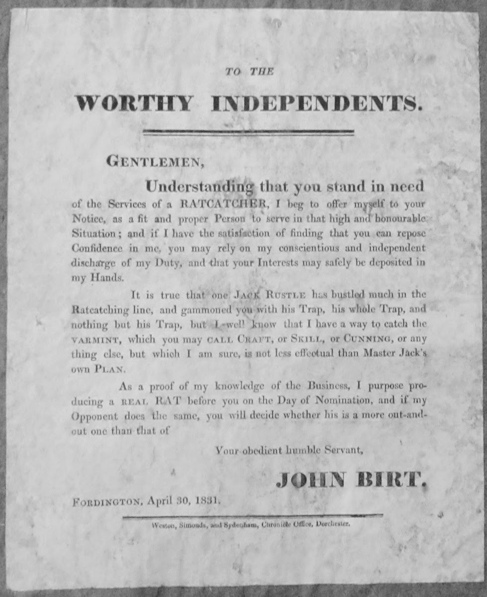 Exeter Working Papers in Book History: Election ephemera