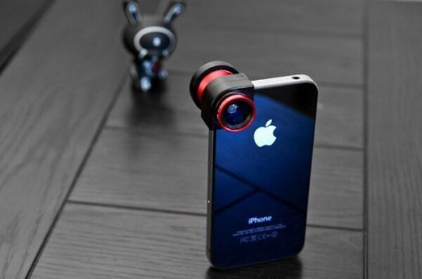 OLLOCLIP - Quick-connect Photography Lens for iPhone 4S