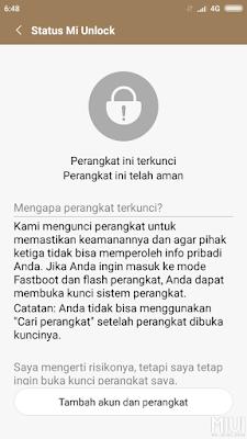 Unlock Mi Cloud Xiaomi Redmi Note 5a