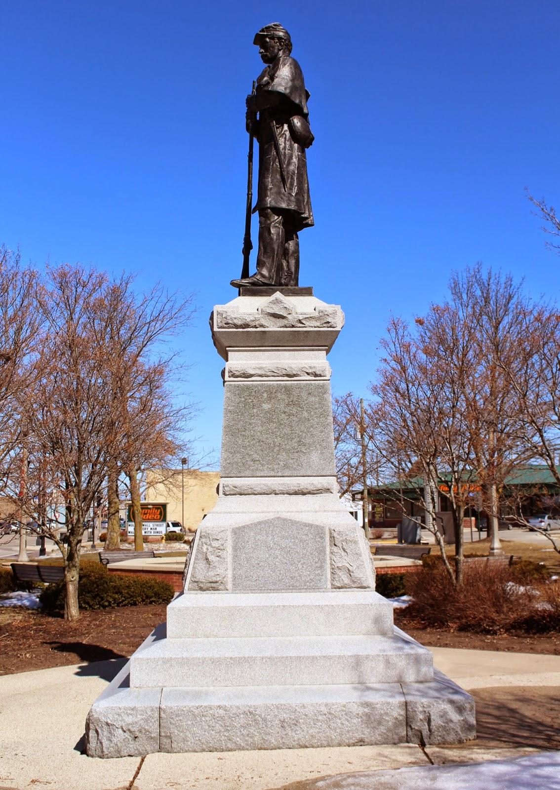 Wisconsin Historical Markers Two Rivers Civil War Memorial