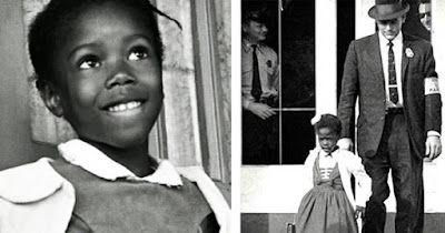 Ruby Bridges, first Black girl to attend an all-white school