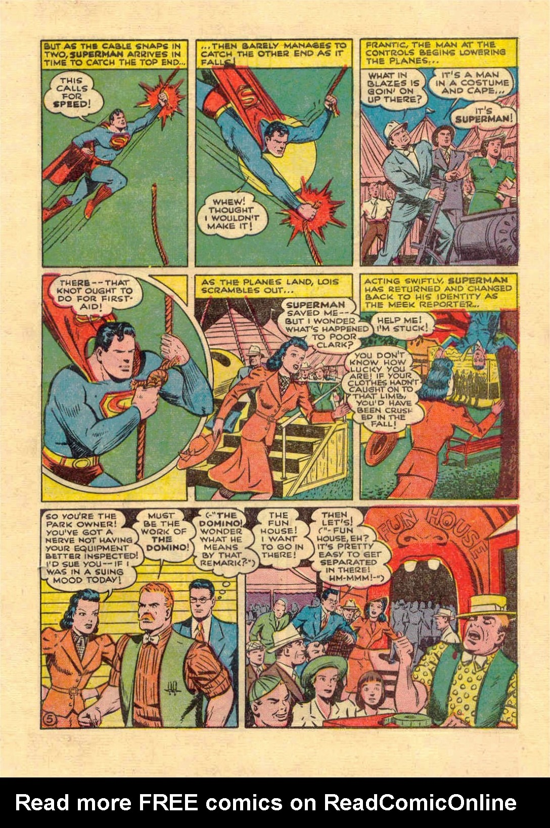 Read online Action Comics (1938) comic -  Issue #46 - 6