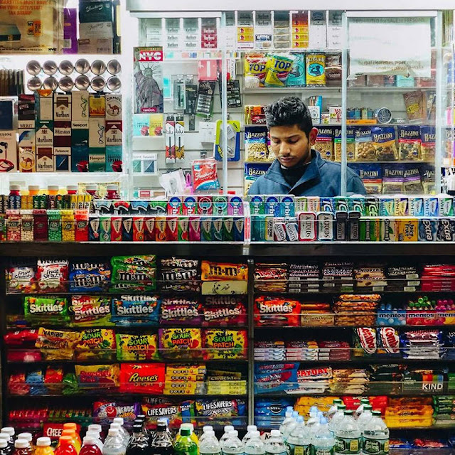 أكشاك بيع الجرائد داخل مدينة نيويورك