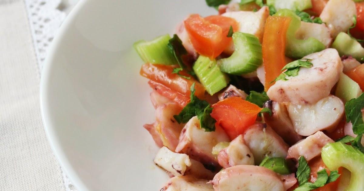 Insalata di polpo & verdure