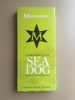 Montezuma's Dark Chocolate Sea Dog Lime & Sea Salt