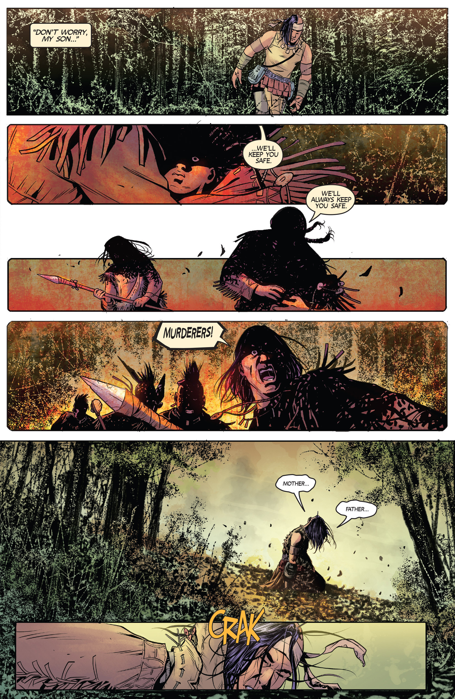 Read online Turok: Dinosaur Hunter (2014) comic -  Issue #1 - 13