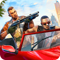 Auto Theft Gangsters (Always Crit - Skills No CD) MOD APK