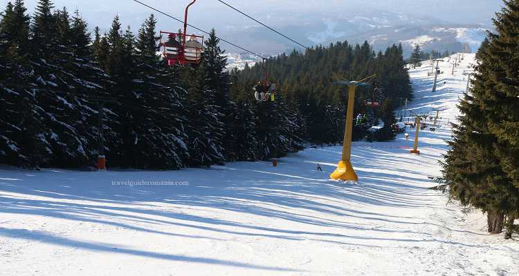 Pârtia de ski Parâng - Petroșani