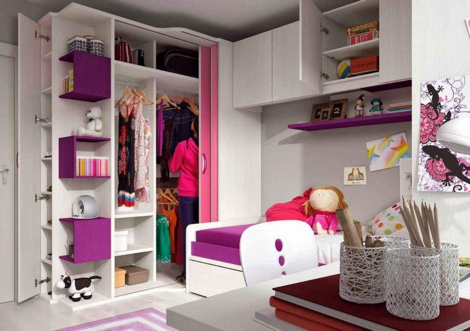 Camas Nias Habitacin Infantil Mueble A Medida Blanco De