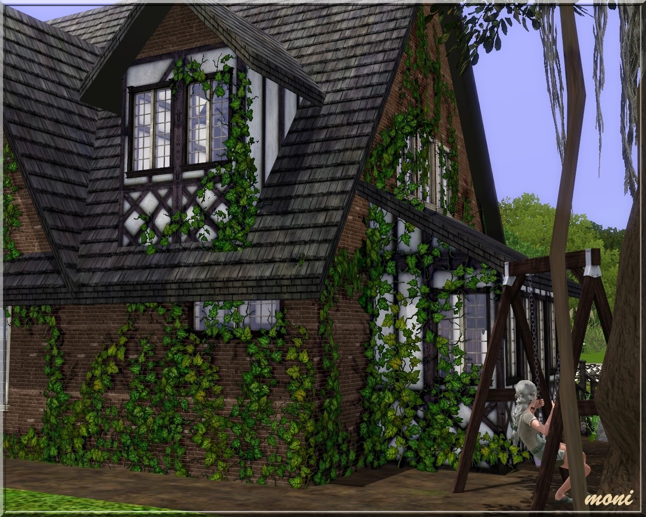 arda sims tudor house ii. Black Bedroom Furniture Sets. Home Design Ideas