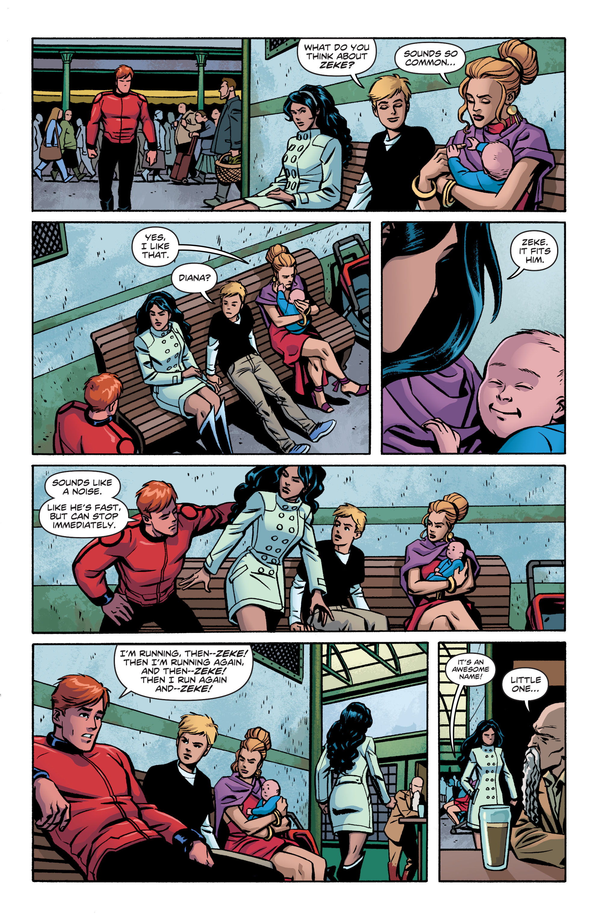 Read online Wonder Woman (2011) comic -  Issue #19 - 8