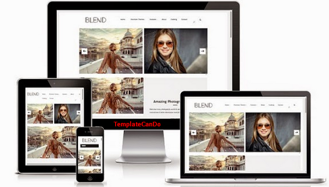 Blend Simple Minimalist Blogger Template