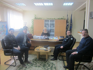 ΔΕΛΤΙΟ ΤΥΠΟΥ Π.Ε.ΠΙΕΡΙΑΣ:Επίσκεψη του νέου Διευθυντή της Αστυνομικής Διεύθυνσης Πιερίας στην Αντιπεριφερειάρχη Πιερίας