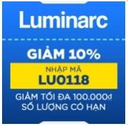 khuyến mãi tháng 2 luminarc