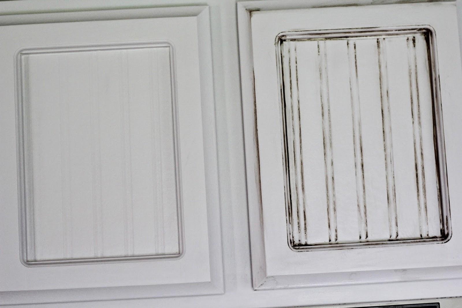 The Mint Cottage Glazing Kitchen Cabinets