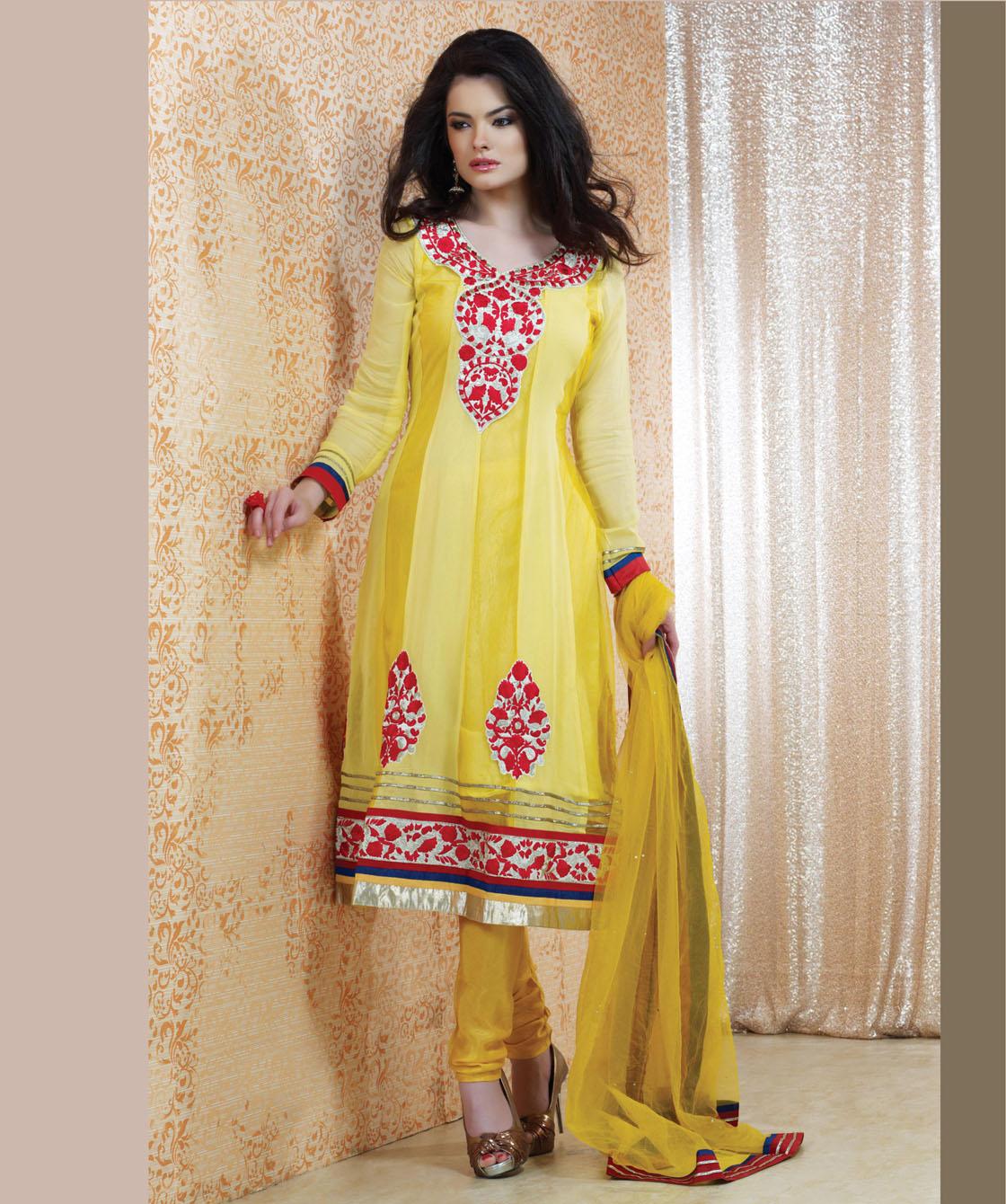 New Designer Anarkali Suit – Latest Anarkali Suit 2013 ... |Latest Bollywood Salwar Kameez Designs 2013
