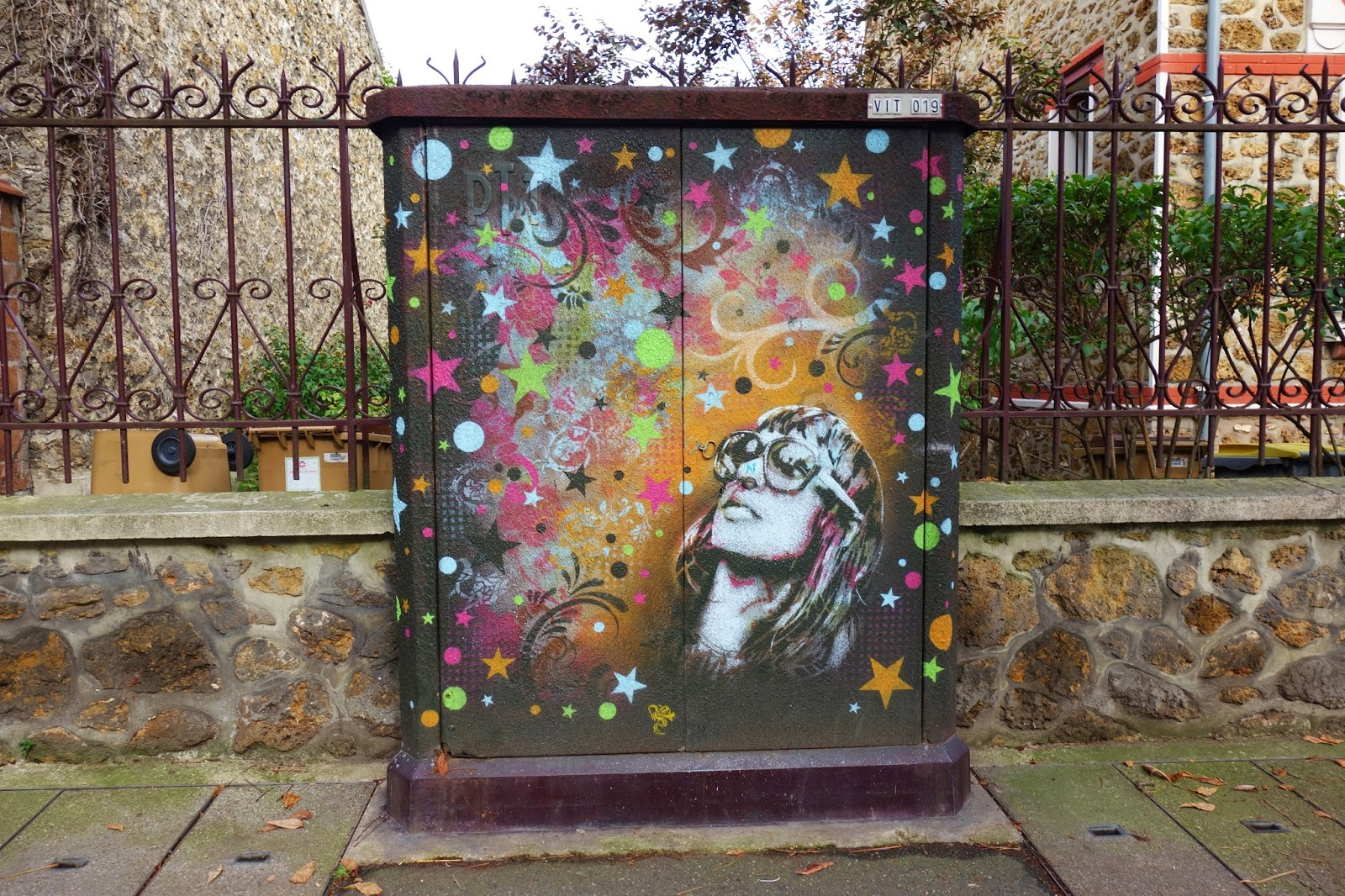 Sunday street art c215 avenue jean jaur s vitry sur - Piscine avec pente douce vitry sur seine ...