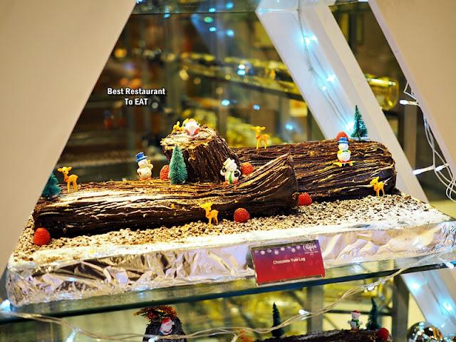 ONE WORLD HOTEL PETALING JAYA - CHRISTMAS Dessert Menu - Chocolate Yule Log