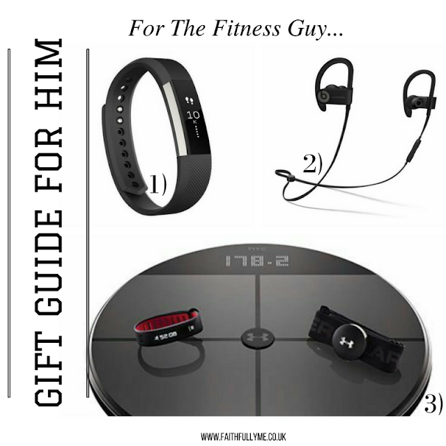 FITNESS TECHNOLOGY GIFT GUIDE FOR THE GUYS 2016. CHRISTMAS GIFT GUIDE
